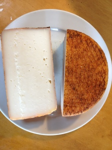 Manchego, Rubbed with Olive oil and smoky Chipotle pepper
