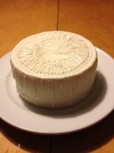 Manchego from the fancy mold